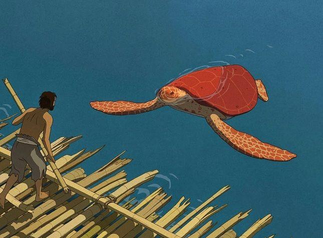 crítica la tortuga roja imagen destacada