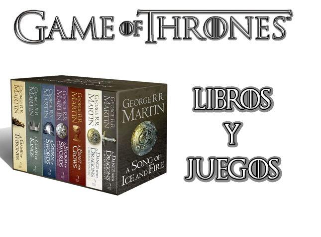 LIBROS Y JUEGOS JUEGO DE TRONOS
