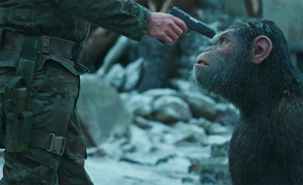 crítica la guerra del planeta de los simios 1