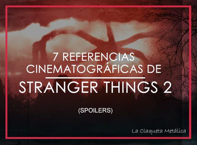 REFERENCIAS STRANGER THINGS 2