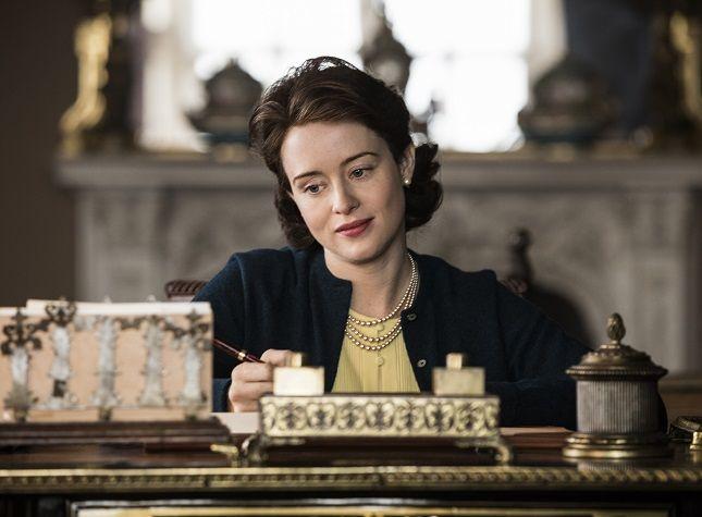 The Crown - Elizabeth - Elizabeth writes a note to Philip
