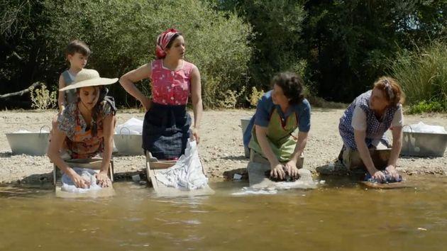 Imagen de 'Dolor y Gloria' con Penélope Cruz y Rosalía
