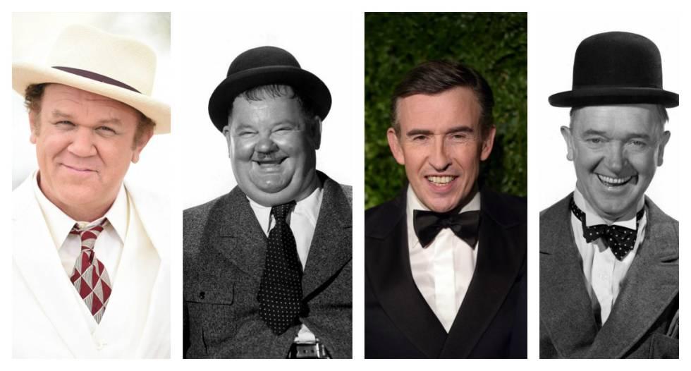 John C. Really como Hardy y Steve Coogan como Laurel