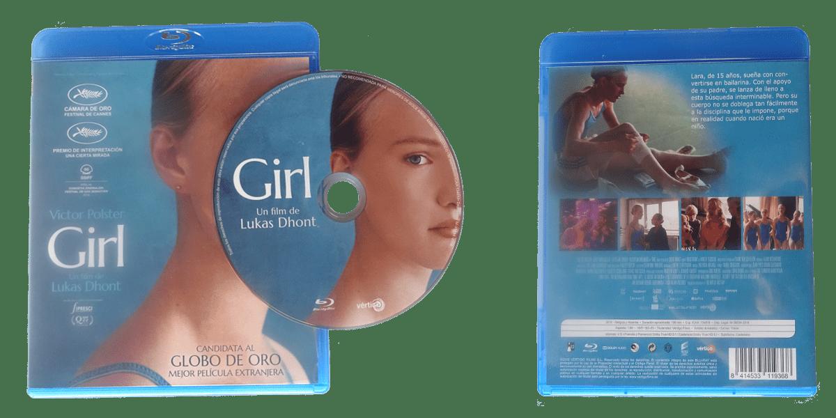 Portada y contraportada del Blu-Ray