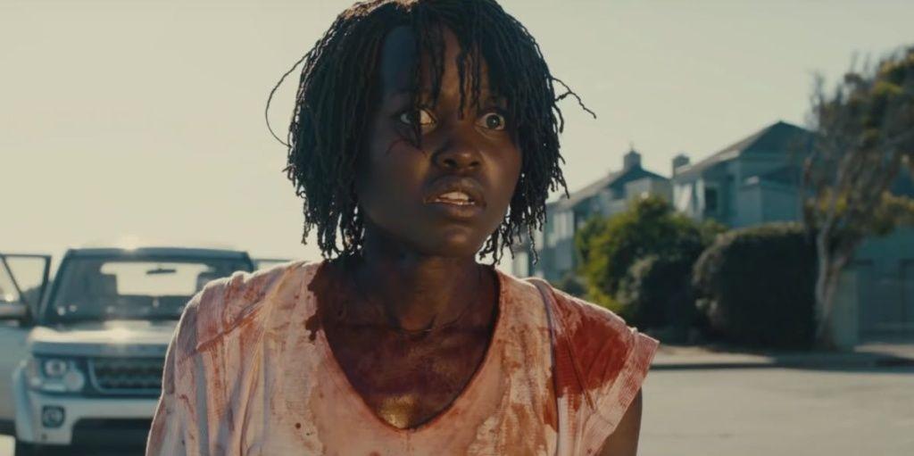 Lupita Nyong'o en 'nosotros' (Us)