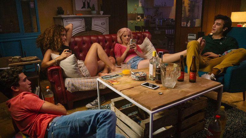Andrea Ros, Jaime Lorente, María Pedraza y Pol Monem en '¿A quién te llevarías a una isla desierta?