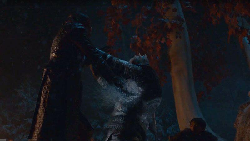 EL MOMENTO DE ARYA 'Juego de Tronos' 8x03 (game of Thrones)