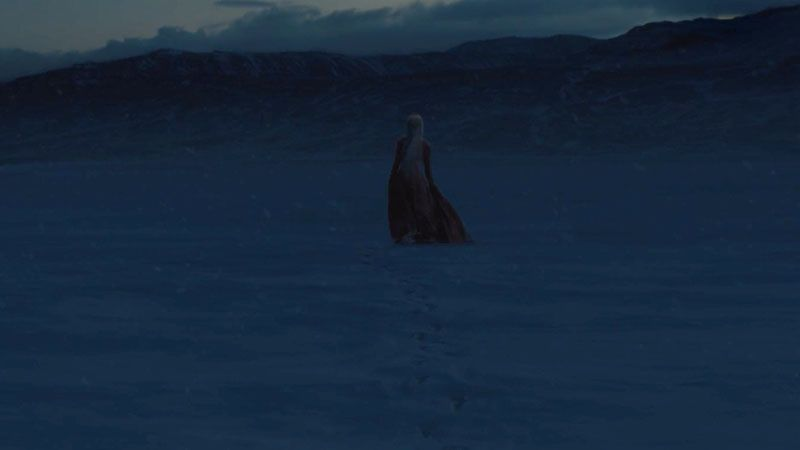Muerte de Melisandre 'Juego de Tronos' 8x03 (game of Thrones)