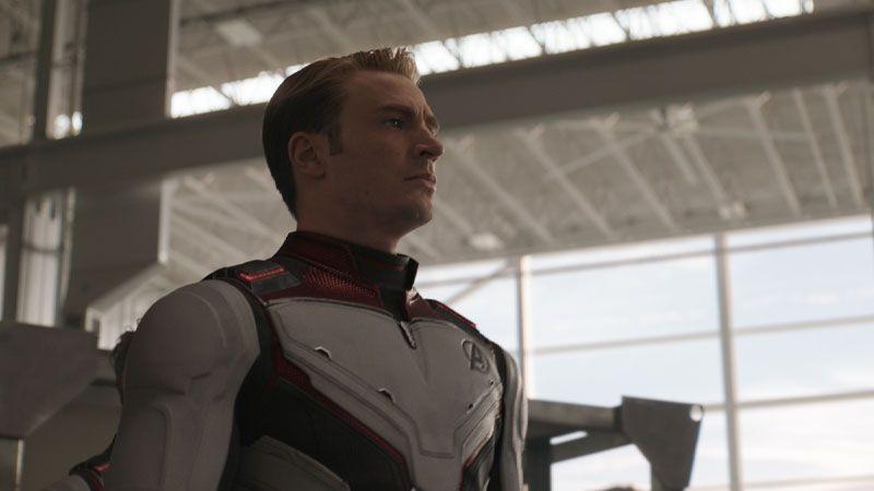 Capitán América en 'vengadores: End Game' (Avengers 4)