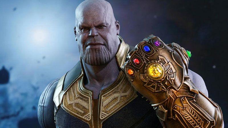 Imagen de Thanos con las gemas del infinito