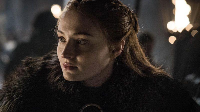 Sansa en 'Juego de Tronos 8x02' (Game of thrones 8x02)