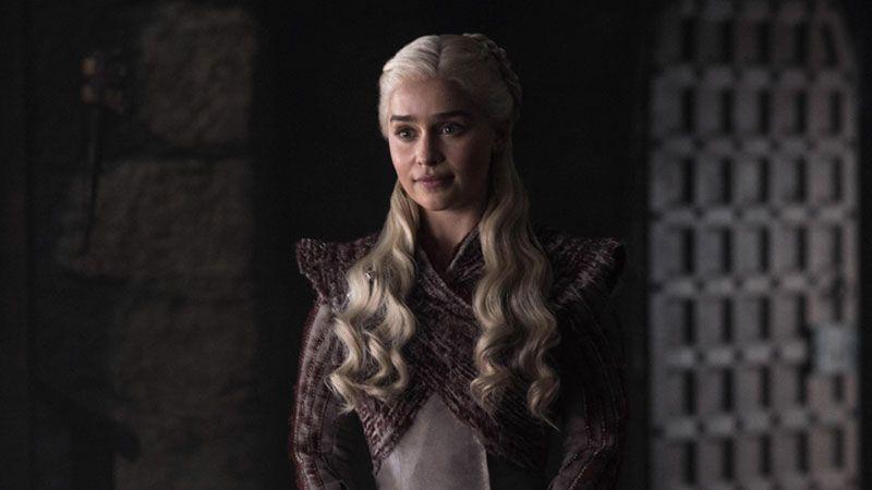 Daenerys en 'Juego de Tronos 8x02' (Game of thrones 8x02)